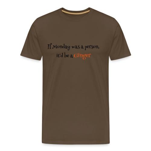 ginger1 - Miesten premium t-paita