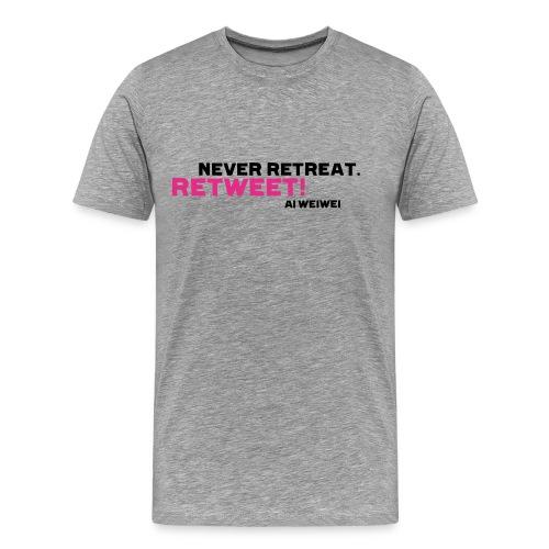 shirt 8 b - Männer Premium T-Shirt