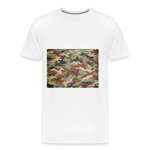 camoprint jpg - Mannen Premium T-shirt