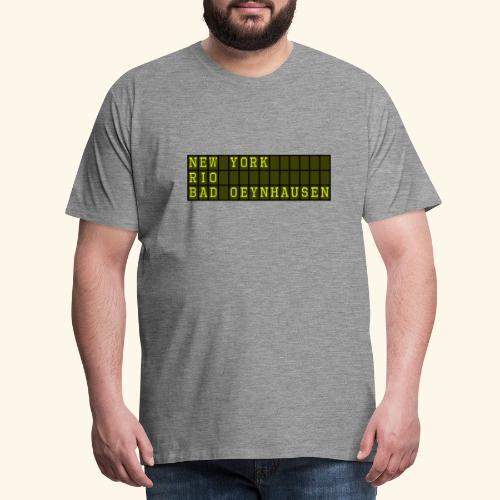 NewYork Rio Bad Oeynhausen - Männer Premium T-Shirt