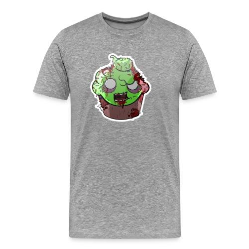 Cupake zombie couleur - T-shirt Premium Homme