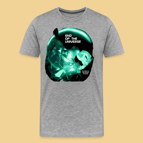 Space Art green - Männer Premium T-Shirt