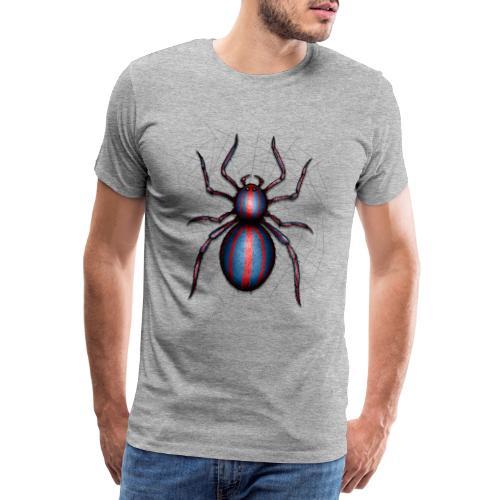 spider - Premium T-skjorte for menn