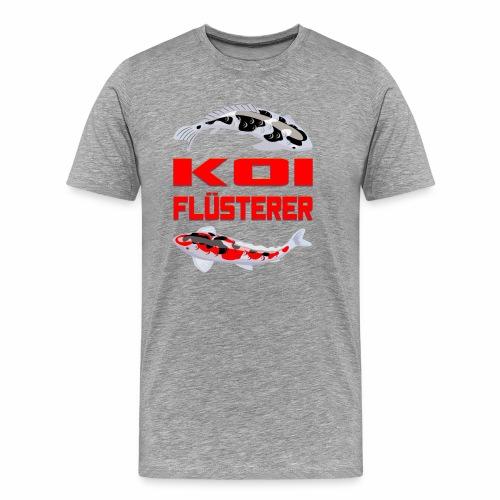Koi Flüsterer - Männer Premium T-Shirt