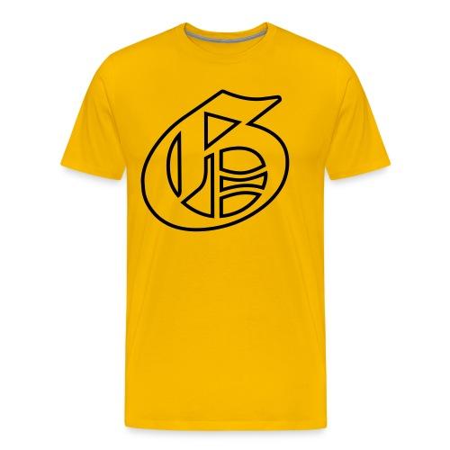 G-logo - Miesten premium t-paita