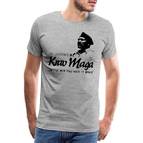 So one may walk in peace - Men's Premium T-Shirt