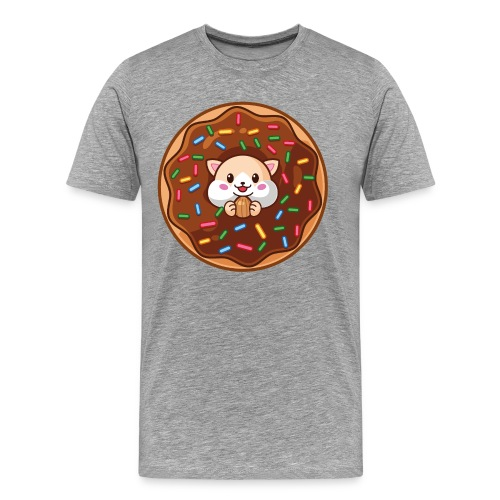 Donut Hamster - Männer Premium T-Shirt
