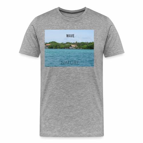 NATURE WAVE - Camiseta premium hombre