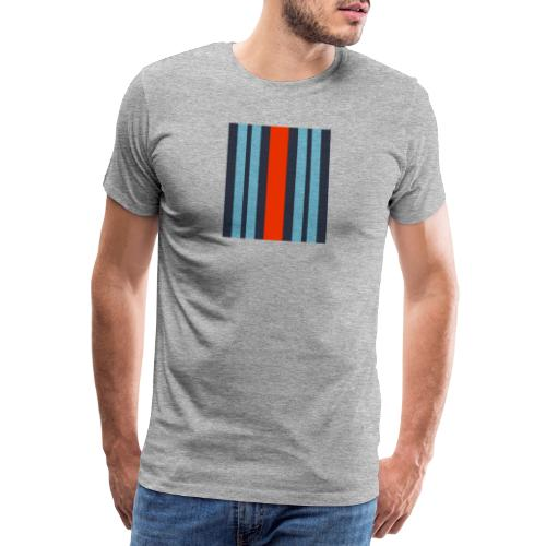 Martini Stripes - Men's Premium T-Shirt