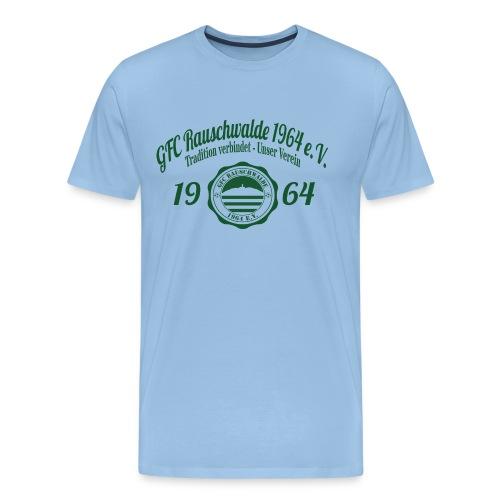 shirt_logo_groß_grün - Männer Premium T-Shirt