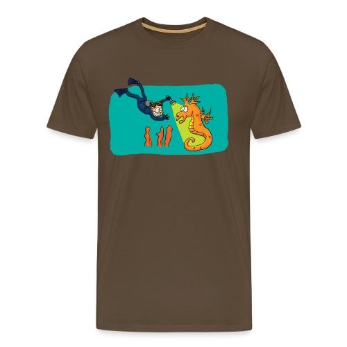 Rencontre sous-marine - T-shirt Premium Homme