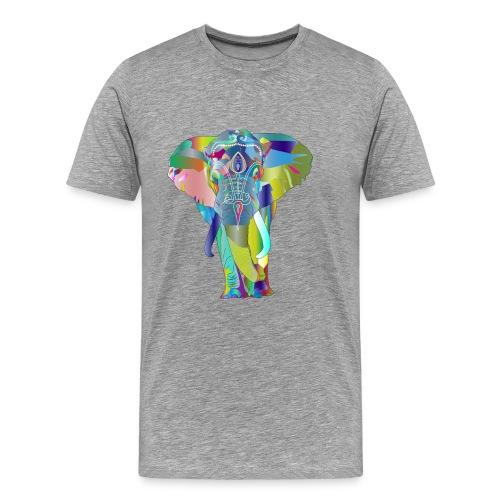 elephant psychedelique - T-shirt Premium Homme