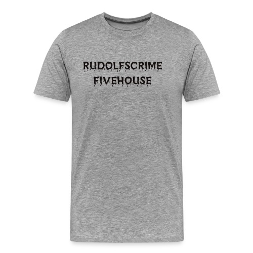 Rudolfscrime - Männer Premium T-Shirt
