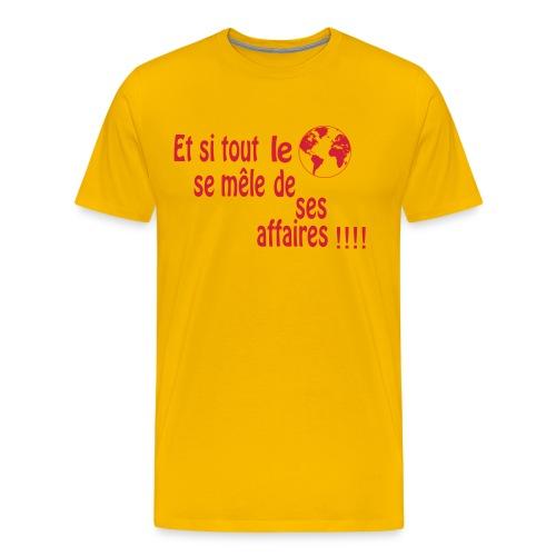BNT création - T-shirt Premium Homme