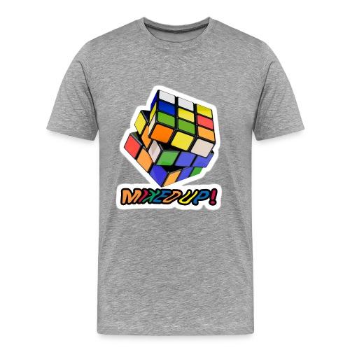 Rubik's Mixed Up! - Premium-T-shirt herr