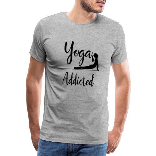 Yoga Addicted - Yoga Pose - Männer Premium T-Shirt