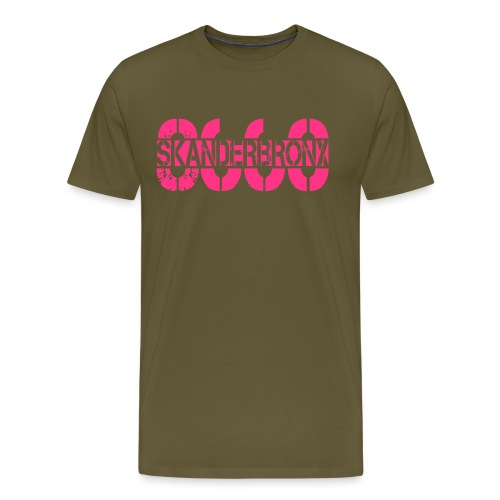SKANDERBRONX - Herre premium T-shirt
