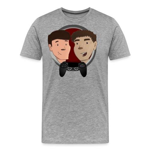 t skjorte design større2crop png - Premium T-skjorte for menn