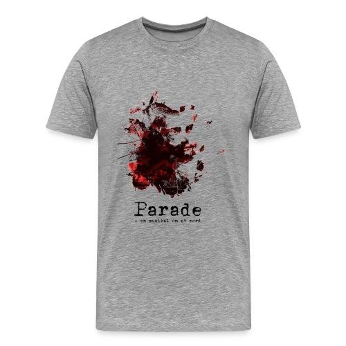 paradeshirtspread - Premium T-skjorte for menn