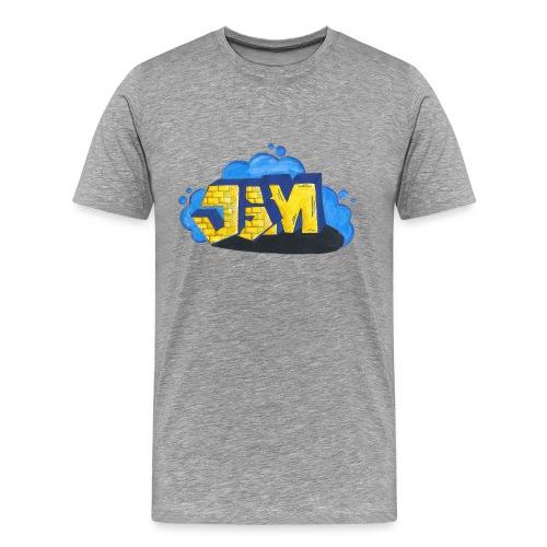 Steine Hintergrund - Männer Premium T-Shirt