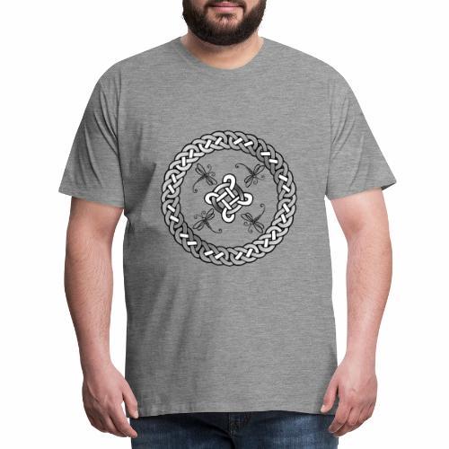 Celtic Dragonfly - Men's Premium T-Shirt