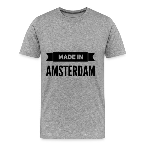 Made in Amsterdam - Männer Premium T-Shirt