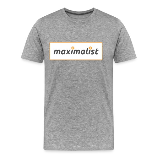 Bitcoin Maximalist - Men's Premium T-Shirt