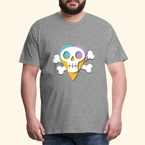 Crane glacée - T-shirt Premium Homme