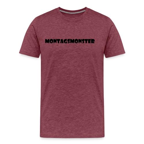 Montagsmonster - Männer Premium T-Shirt