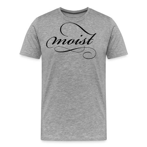 moist_logo_black - Men's Premium T-Shirt