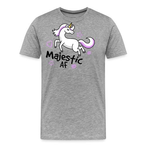 Majestic AF Unicorn - Men's Premium T-Shirt