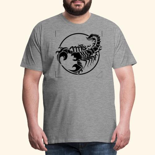 ESCORPION TRIBAL - Camiseta premium hombre