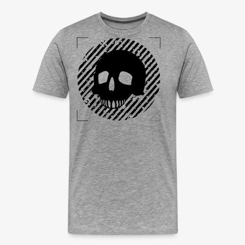 CALAVERA EN CIRCULO - Camiseta premium hombre