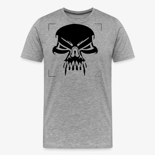 CALAVERA CON COLMILLOS - Camiseta premium hombre