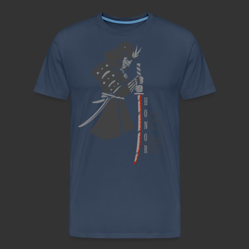 Samurai Digital Print - Men's Premium T-Shirt