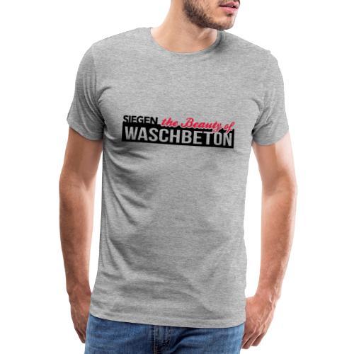 Waschbeton - Männer Premium T-Shirt