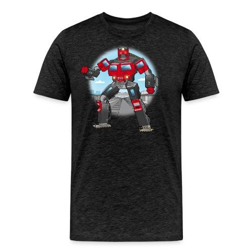 Lokomotiv transformer - Herre premium T-shirt
