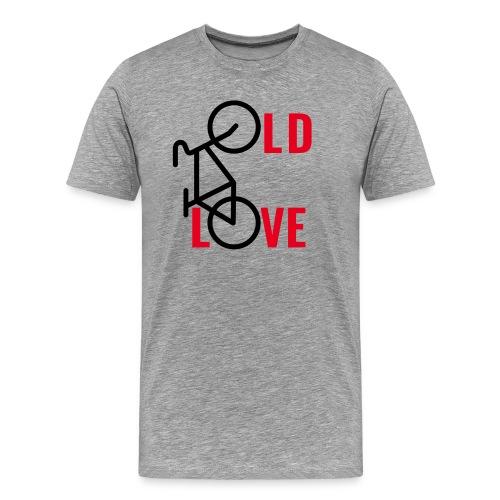OLD LOVE - BIKER - RADLER - RADFAHRER - RADFAHREN - Männer Premium T-Shirt