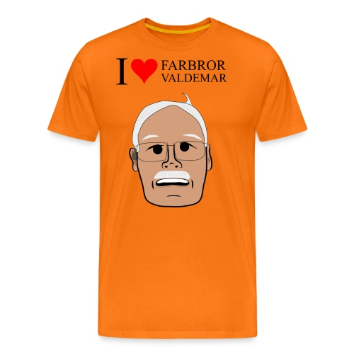 i heart FV 3500x4600 png - Premium-T-shirt herr