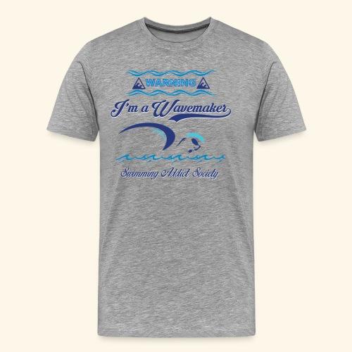 Wavemaker - Maglietta Premium da uomo