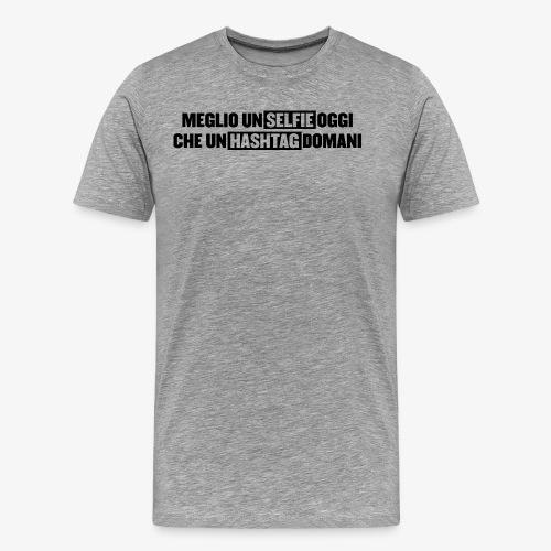 selfieTAG png - Maglietta Premium da uomo