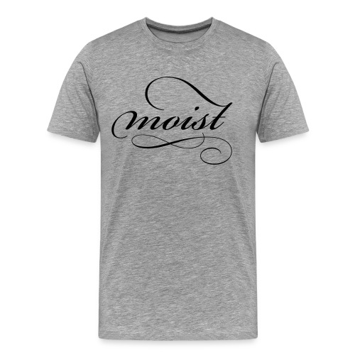moist_logo_black - Men's Premium T-Shirt