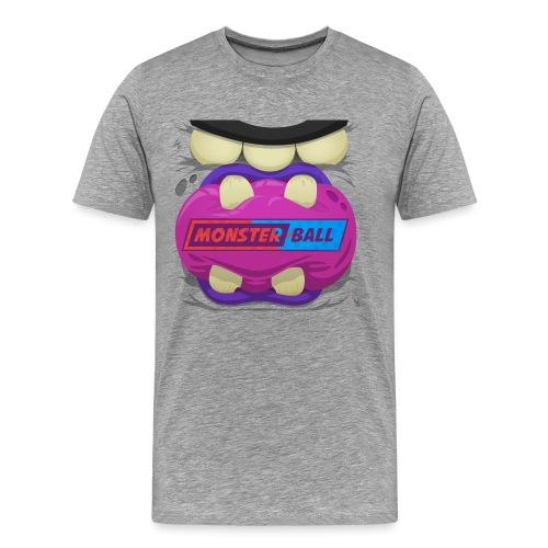 Monster Chew Logo - Men's Premium T-Shirt