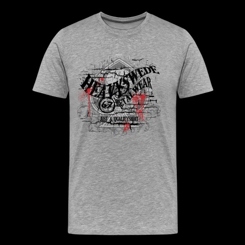 hs quality - Premium-T-shirt herr