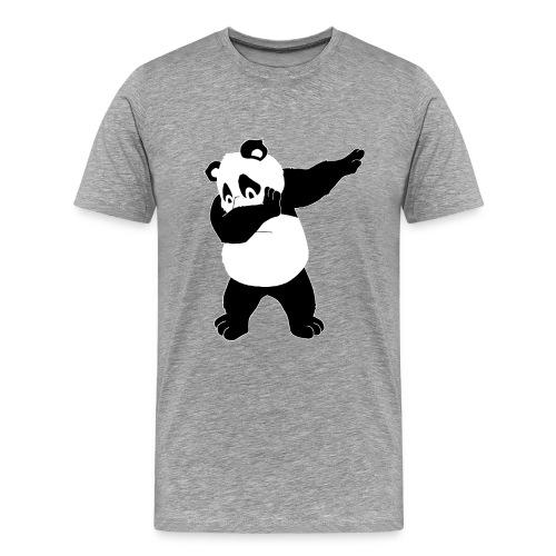 Dabbing Panda Bär - Männer Premium T-Shirt
