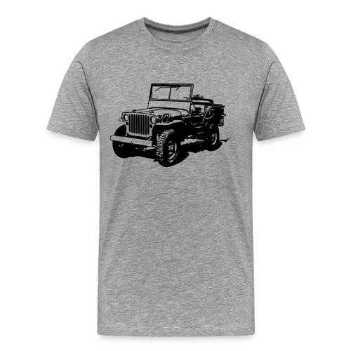 AVM Jeep 4x4 - VECTOR - MULTICOLOR DESIGN - Mannen Premium T-shirt