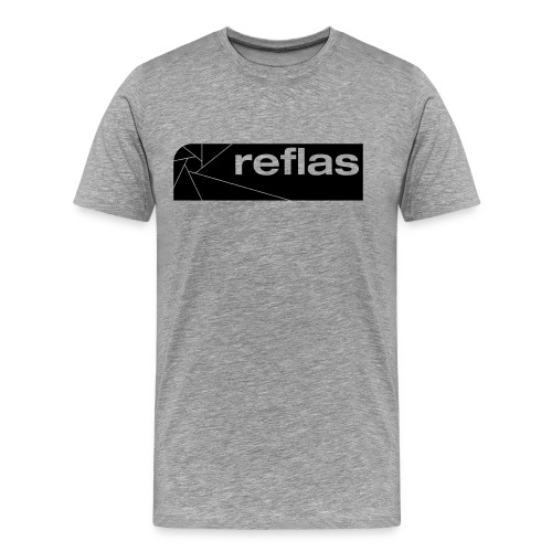 Reflas Clothing Black/Gray - Maglietta Premium da uomo