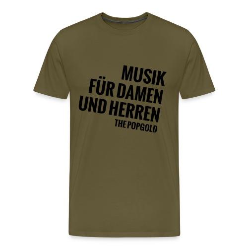 musik - Männer Premium T-Shirt