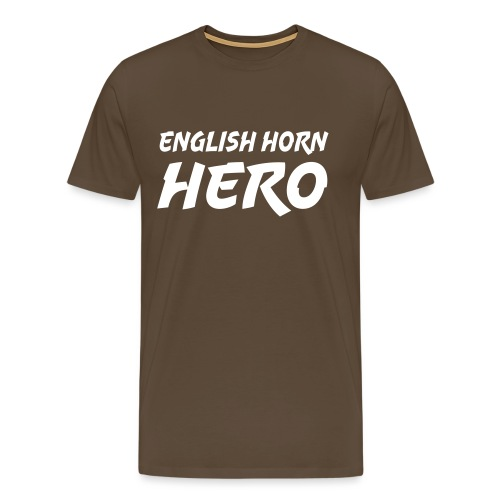 English Horn Hero - Men's Premium T-Shirt