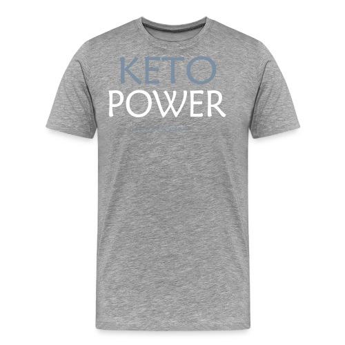 Keto Power1 - Männer Premium T-Shirt